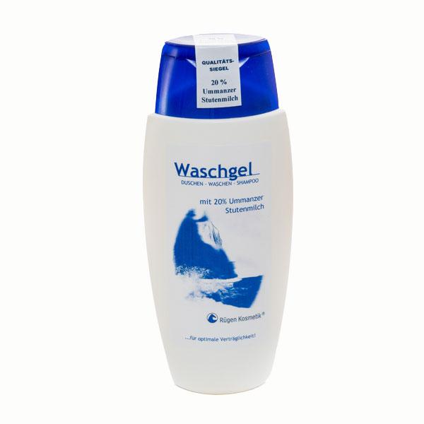 Waschgel mit 20% Stutenmilch von Rügen Kosmetik auf Ummanz