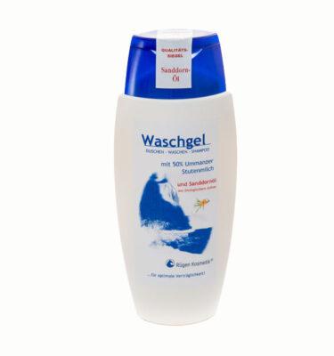 Waschgel mit 50% Stutenmilch und Sanddornöl von Rügen Kosmetik auf Ummanz